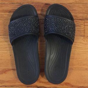 Crocs Sandals - Sloane Embellished Slide